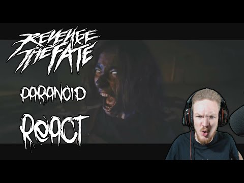 Revenge The Fate - Paranoid (Official Music Video) REACT!