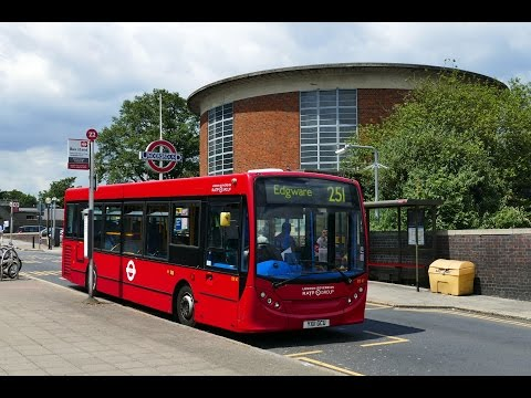 London Buses - Route 251 from Edgware to Arnos Grove