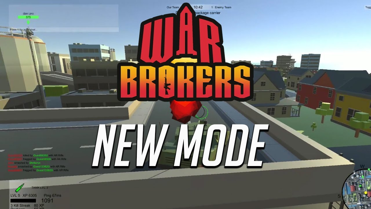 Warbrokers io New mode added - Browser based FPS - Warbrokers io gameplay