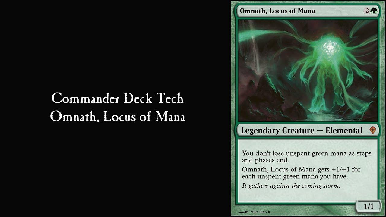 Commander Omnath Locus Of Mana Deck Tech Youtube
