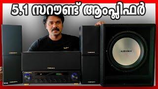 5.1 HOME THEATRE SYSTEM   5.1 SURROUND SOUND AMPLIFIER   5.1 PROLOGIC AMPLIFIER   REFLEX TECH WORLD