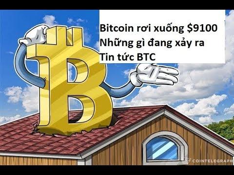 Bitcoin rơi xuống $9100, Những gì đang xảy ra? Tin tức BTC