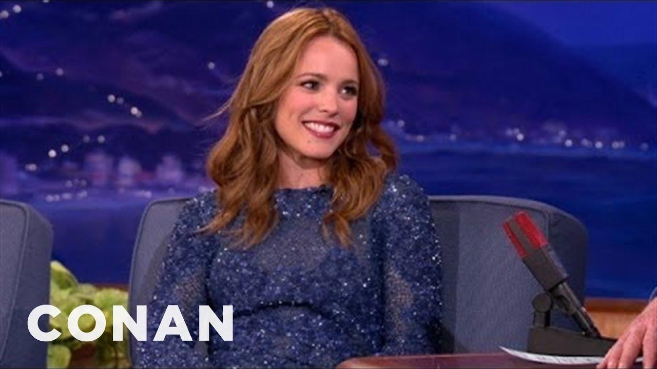 Download Rachel McAdams' Frosty Canadian Halloween | CONAN on TBS