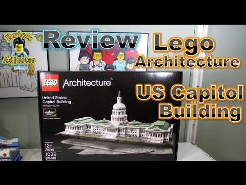 Playing with Lego #262 - US Capitol Building - Lego Architecture (Review) - LEGO 21030