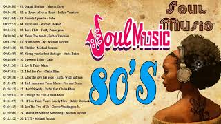 The 100 Greatest Soul Songs of the 1980s    Best Soul Songs of The 80's    Soul Music 80's Playlist