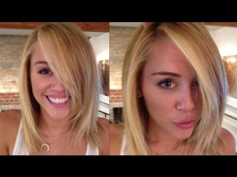 Miley Cyrus Goes Blonde - YouTube