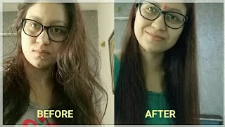 How to Get Silky Smooth Hair at Home- DIY Hair Mask for Frizzy/Rough/Dry Hair