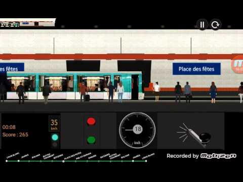paris metro simulator ligne 7bis v15 youtube. Black Bedroom Furniture Sets. Home Design Ideas