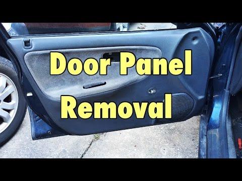 1992 1995 Honda Civic Door Panel Removal Installation Youtube