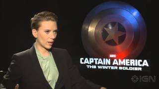 Scarlett Johansson Talks The Avengers: Age of Ultron