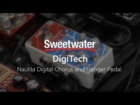 Summer NAMM 2016: DigiTech Nautila Digital Chorus And Flanger Pedal