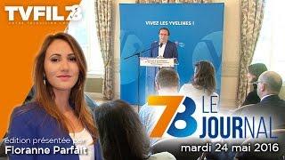 7/8 Le journal – Edition du mardi 24 mai 2016