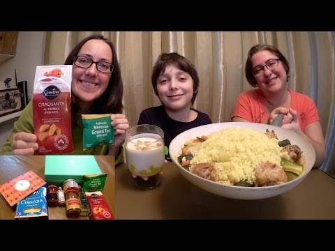 Moroccan Food - World Food Box | Gay Family Mukbang (먹방) - Eating Show