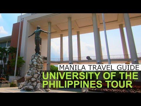 UP Academic Oval Tour Diliman Quezon City Philippines