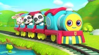 Chuyến tàu phiêu lưu kỳ thú   Gấu trúc Kiki và những người bạn   Nhạc thiếu nhi vui nhộn   BabyBus