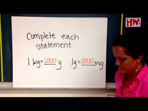 Review Of How To Measure Using The Metric System