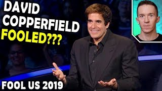 Magician Reacts To David Copperfield On Penn And T