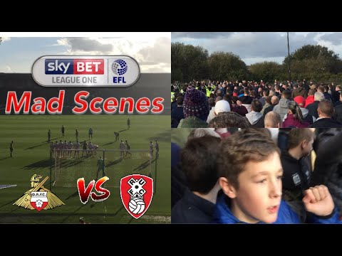 MADNESS (MUST WATCH) Doncaster vs Rotherham