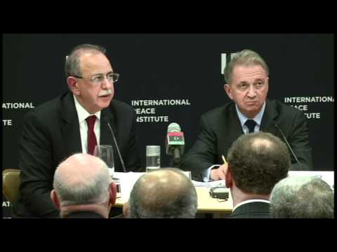 Libya's Prime Minister Discusses Country in Transition at IPI