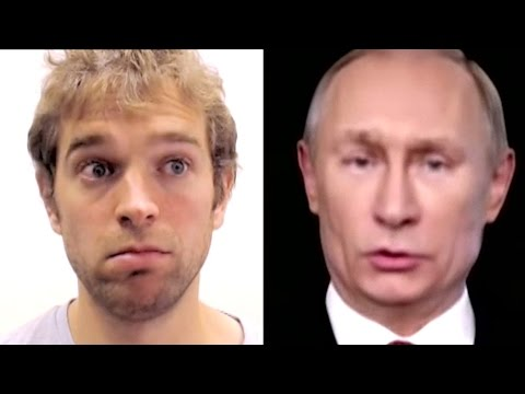 Nothing is real: How German scientists control Putin's face