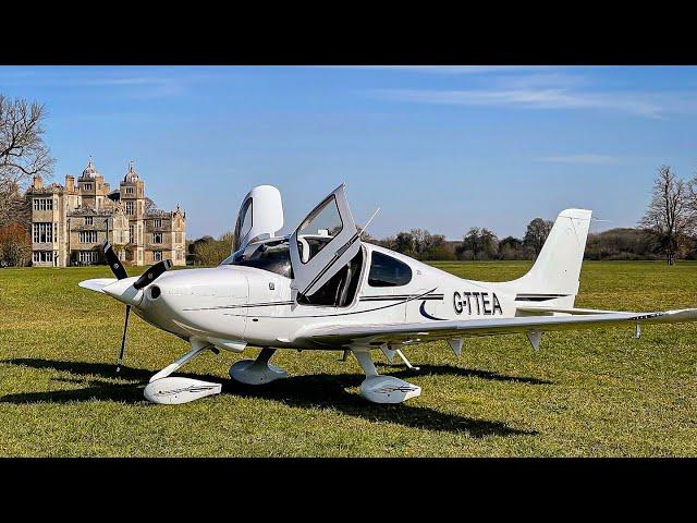Cirrus SR20 - Charlton Park To London Biggin Hill | Flight Vlog
