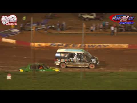 Dixie Speedway 8/11/18 Waterless Boat Race!