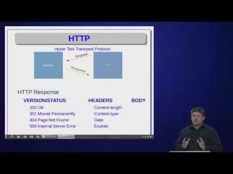 Lecture 1: HTTP and HTML