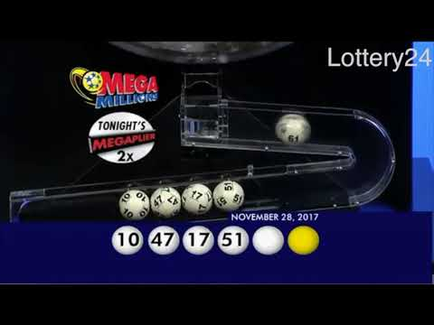 2017 11 28 Mega Millions Numbers and draw results