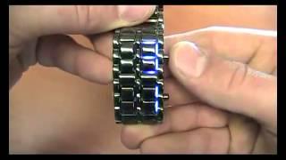 Крутые LED часы Iron Samurai в интернет магазине ZIlderTop.ru(, 2013-09-19T08:01:05.000Z)