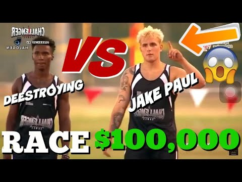LOGAN PAUL CHALLENGER GAMES $100,000 RACE HIGHLIGHTS.... WHO LOST?? 😱