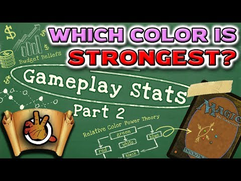 Which Color is the Strongest? Gameplay STATS (pt2) l The Command Zone #239 l Magic the Gathering EDH