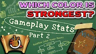 which-color-is-the-strongest-gameplay-stats-pt2-l-the-command-zone-239-l-magic-the-gathering-edh