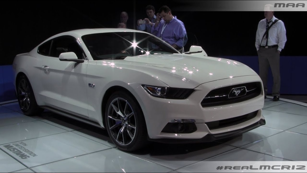2015 Ford Mustang 50th Anniversary Edition - YouTube