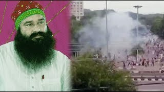 LIVE: High Court confiscate Rapist Ram Rahim Properties, Dera Miscreants Sets Media OB Van on Fire