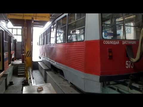Экскурсия в трамвайное депо. Краснодар. 11.12.2015г.