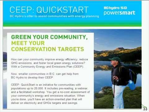 2010 Community Energy and Emissions Inventory Reports