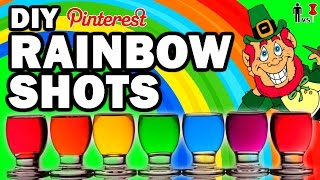 DIY Rainbow Shots, Man VS Corinne VS Pin