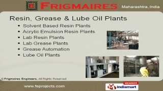 Resin Plant By Frigmaires Engineers Mumbai