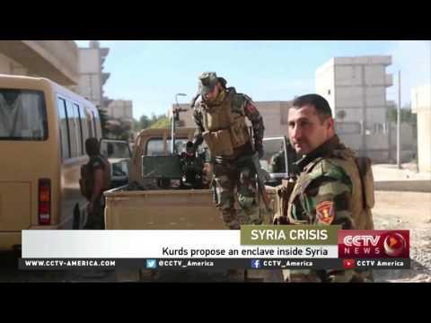 Kurdish leaders propose an enclave inside Syria