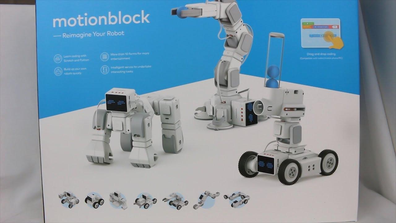 Motionblock Robot Kit Unboxing/Review