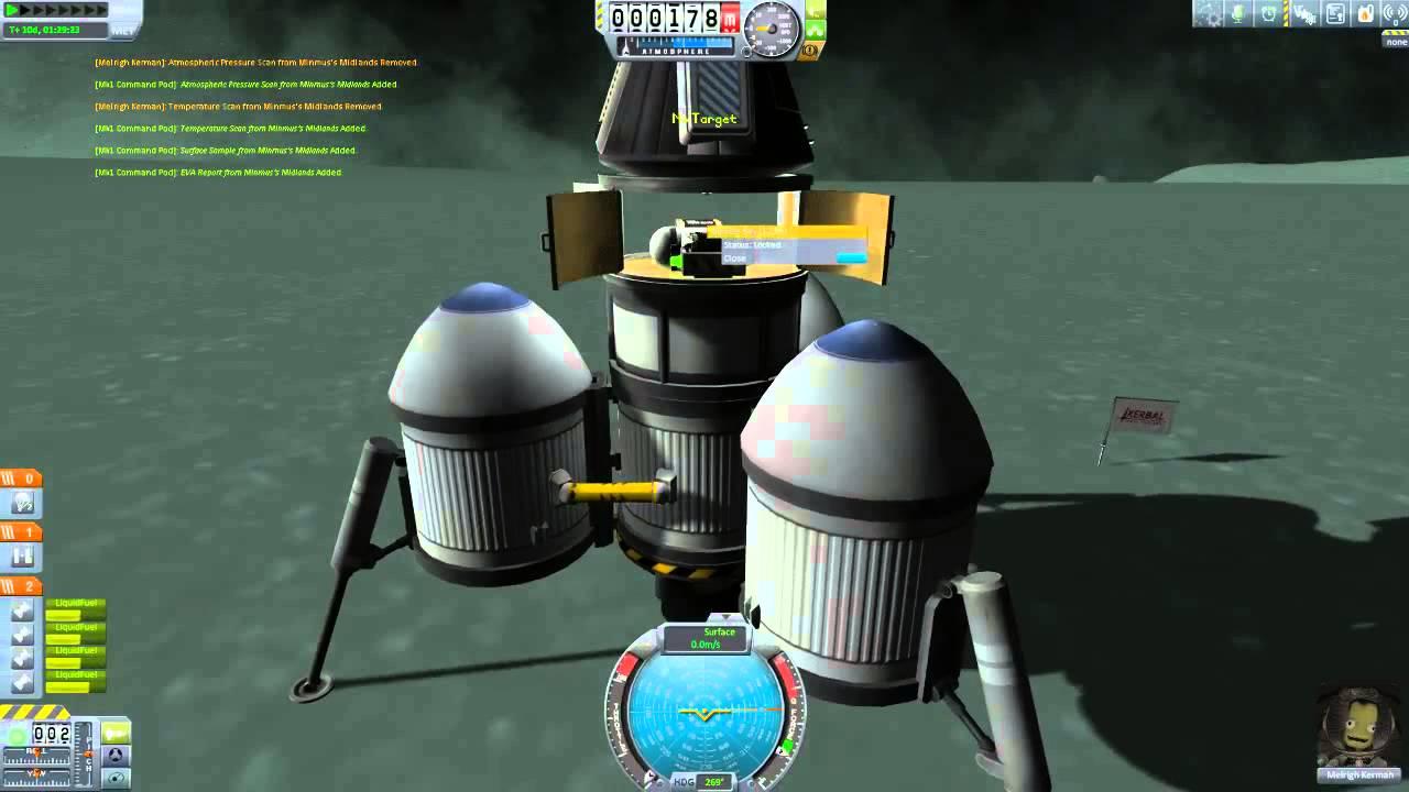 KSP 1 0 2 - Simple Mun/Minmus Return Lander