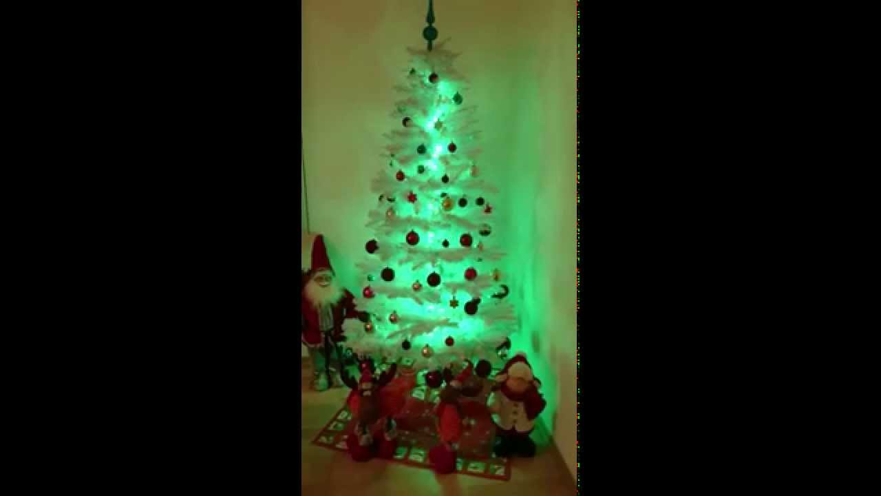 led weihnachtsbaum wei youtube. Black Bedroom Furniture Sets. Home Design Ideas