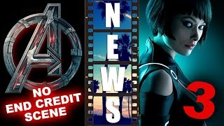 Avengers 2 NO End Credits Scene, Tron 3 Ascension - Beyond The Trailer