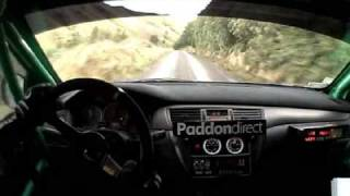 Hayden Paddon In-car - Rally Wairarapa SS9 Stage Record