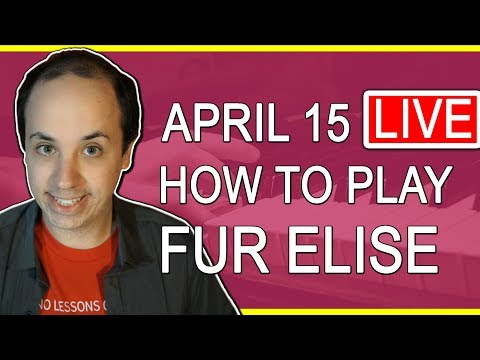 🔴 How to Play Fur Elise - Live Stream Recording