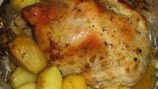 """Проще блюда не бывает -  Курица для """"Ленивых"""""""