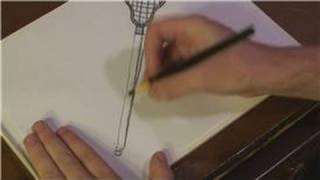 Drawing Techniques : How to Draw Lacrosse Sticks