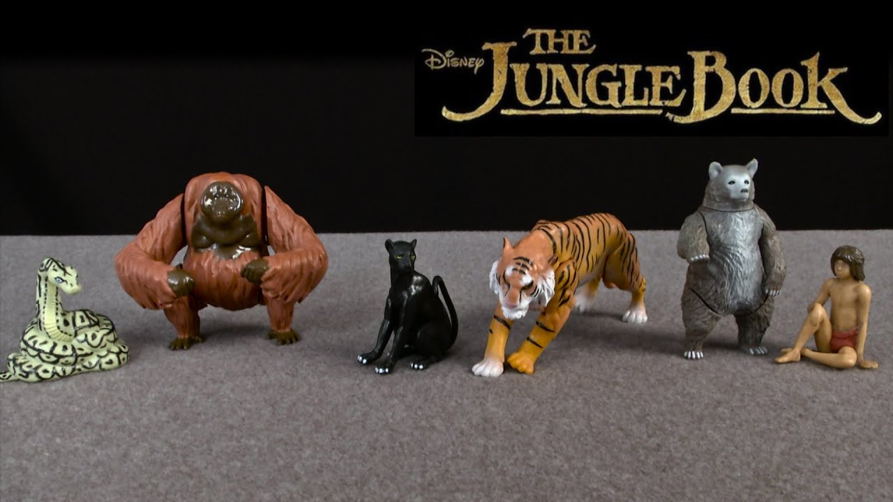 Disney Jungle Book Character Figure-Bagheera