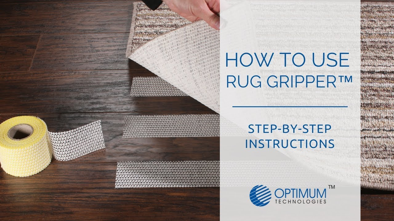 How To Use Rug Gripper You