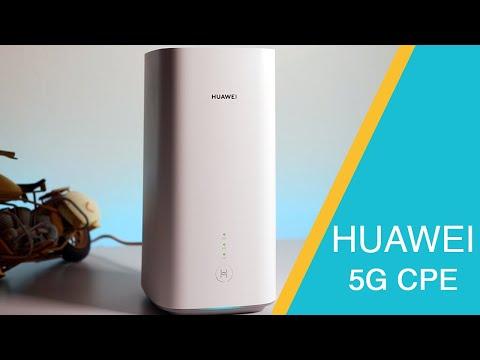 مراجعة جهاز Huawei 5G CPE
